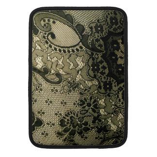 Black Lacey Look MacBook Air Sleeve