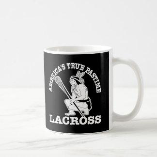 Black Lacross USA Pastime Coffee Mug