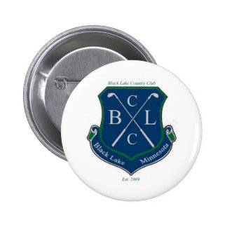 Black Lake Country Club Pinback Buttons