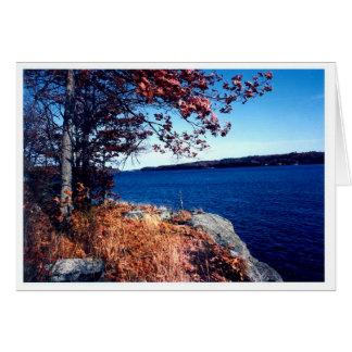 Black Lake rock outcrop Card
