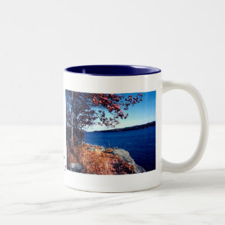 Black Lake rock outcrop Mug