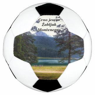 Black Lake. Žabljak. Montenegro. Soccer Ball