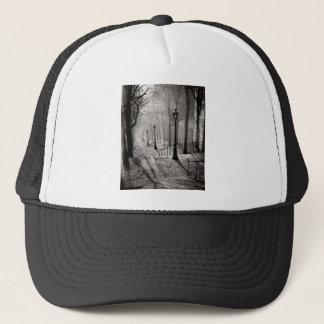 Black lamps trucker hat