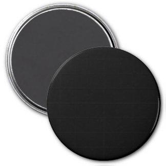 Black Large Round Magnet Custom Magnets Template