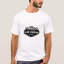 BLACK Las Vegas Sign T-Shirt