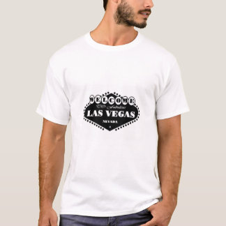 BLACK Las Vegas Sign T-Shirt