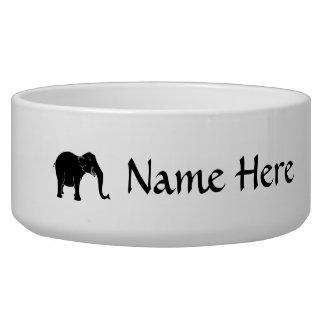 Black Laughing Elephant. Bowl