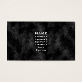Black Leather Gothic Business Card