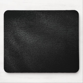Black Leather Look Mouse Pad