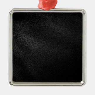 Black Leather Look Christmas Tree Ornaments