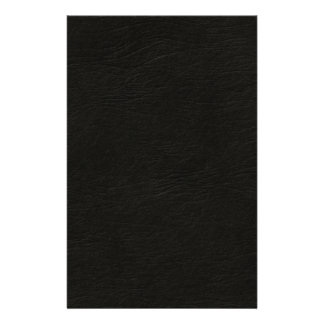 Black Leather Look Stationery