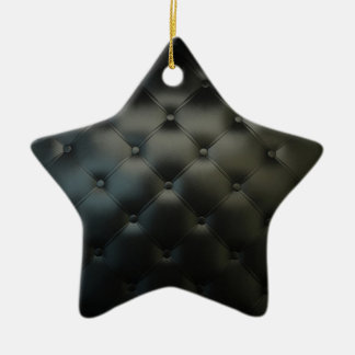 Black Leather Ornaments