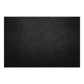 Black Leather Texture For Background Photo Print