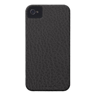 Black Leather Texture iPhone 4/4S Case-Mate B.T. iPhone 4 Covers