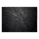 black leather texture Note Card