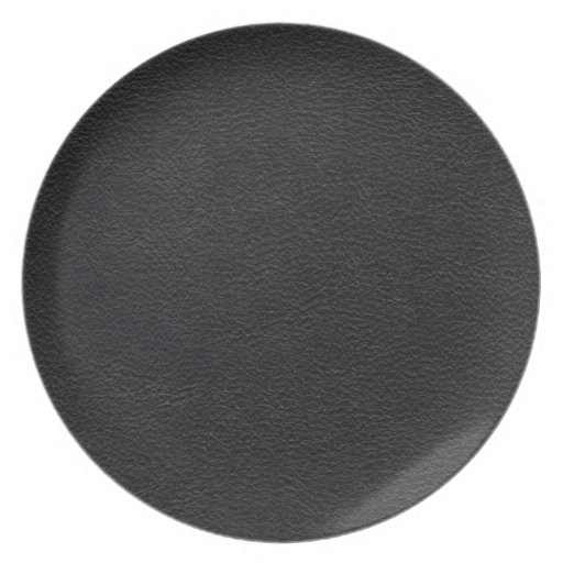 Black Leather Texture Plate