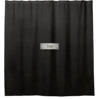 Curtains Ideas black leather shower curtain : Leather Shower Curtains | Zazzle