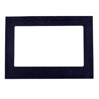 Black Leatherette Magnetic Photo Frame