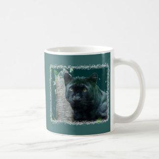 Black Leopard Mug