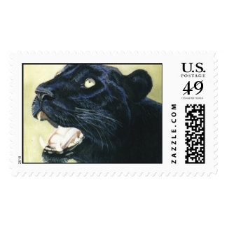 """Black Leopard"" Stamps"