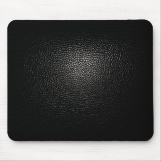 black lether imitation pad for pc mouse pad