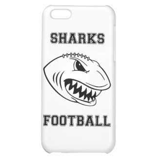 black letters sharks cover for iPhone 5C