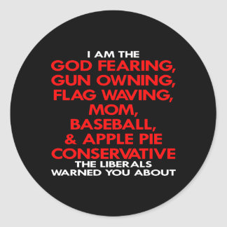 Black Liberals Warned You About Round Stickers