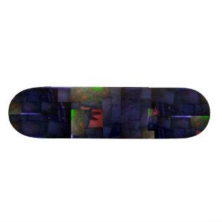 Black-light-Bricks Skateboard
