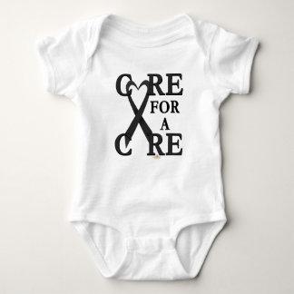 Black Light Care For A Cure Design T Shirt