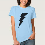 Black Lightning Bolt Women's shirt