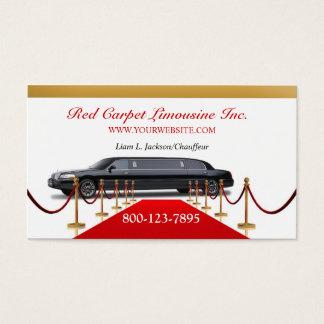 Black Limousine Business Card
