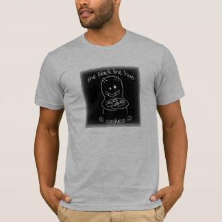 Black Line Cookies T-Shirt