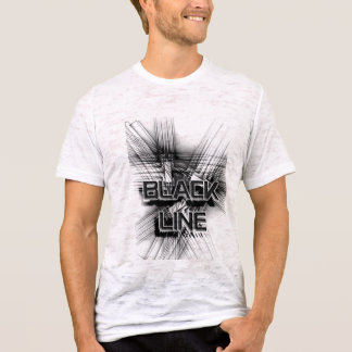 Black Line Design T-Shirt