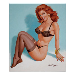 3eb4243cd Vintage Pinup Lingerie Posters   Photo Prints