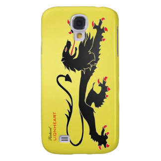 Black Lion passant Speck Case with name