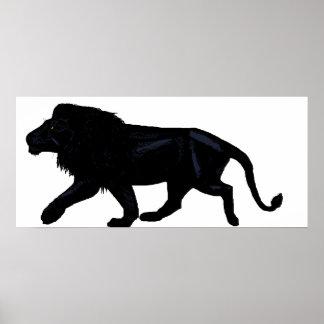 Black Lion Poster