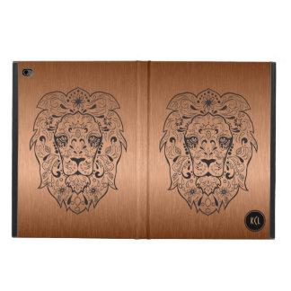 Black Lion Sugar Skull And Metallic Copper Powis iPad Air 2 Case