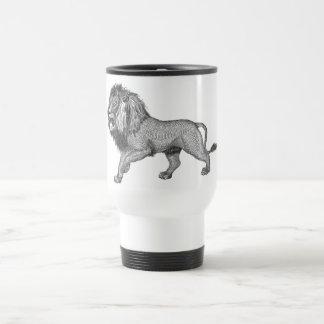 Black Lion Travel Mug