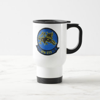 BLACK LIONS WORLD FAMOUS squadron Travel Mug