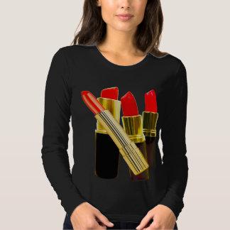 Black Lipstick Tee - Long Sleeved