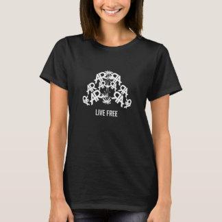 Black Live Free & Self-Made Women AR T-Shirt