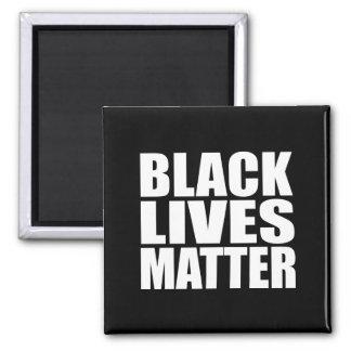 """""""BLACK LIVES MATTER"""" 2 INCH SQUARE MAGNET"""