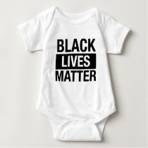 Black Lives Matter Baby Bodysuit