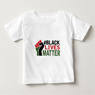 #Black Lives Matter Baby T-Shirt