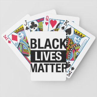 Black Lives Matter Bicycle Playing Cards