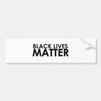 Black Lives Matter - Bold Design - Black Pride Bumper Sticker