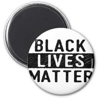 Black Lives Matter - Bold Design - Black Pride Magnet