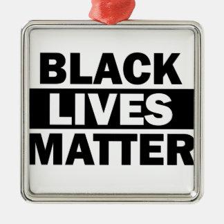 Black Lives Matter - Bold Design - Black Pride Metal Ornament