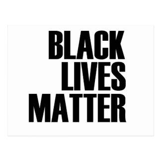 Black Lives Matter - Bold Design - Black Pride Postcard