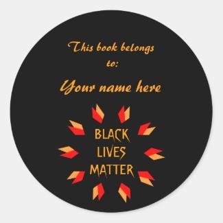 Black Lives Matter Bookplate